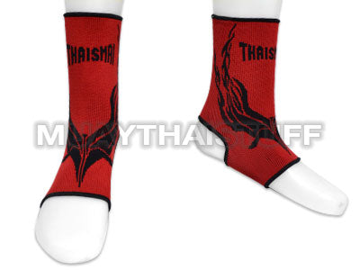 Thaismai Ankle Support Red With Black Graphic AK8002