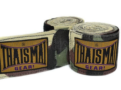 Thaismai Fancy Hand Wraps Camouflage Green HW7003-CM