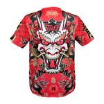 TUFF Muay Thai Shirt King of Dragon in Red