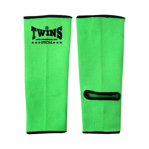 Twins Special Muay Thai Ankle Supports Green AG