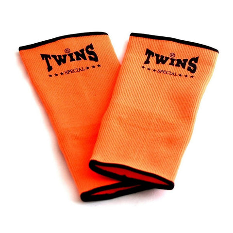 Twins Special Muay Thai Ankle Supports Orange AG
