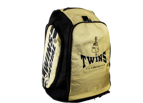 Twins Special Kick Boxing K1 Muay Thai MMA Gold Gym Backpack BAG5