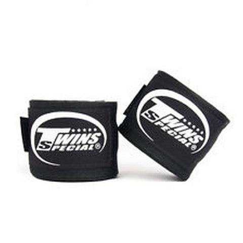 Twins Special Hand wraps Black Elastic Cotton CH5
