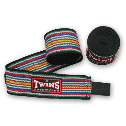 Twins Special Muay Thai Hand Wraps Black CH2