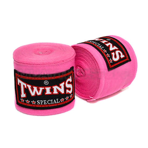 Twins Special Hand wraps Pink Elastic Cotton CH5