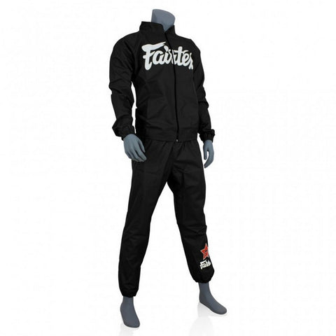 Fairtex VS2 Fairtex Vinyl Sweatsuit Black