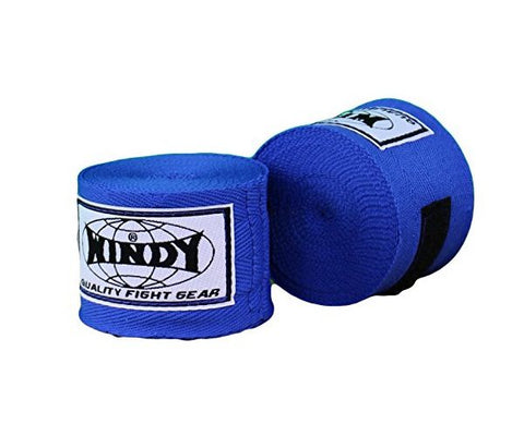 Windy Muaythai Boxing Handwraps Blue