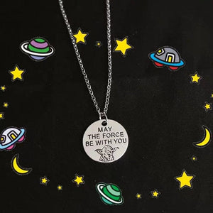 MAY THE FORCE WITH YOU NECKLACE