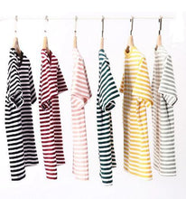 Load image into Gallery viewer, KAWAII COLORFUL STRIPED T-SHIRTS - Diftas