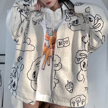 Load image into Gallery viewer, DOODLE ART HOODIE