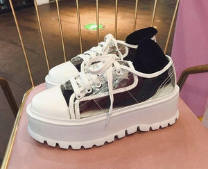 TRANSPARENT SHOES - DIFTAS - Do It For The Aesthetics