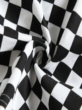 Load image into Gallery viewer, CHECKERBOARD CROPPED JACKET - Diftas