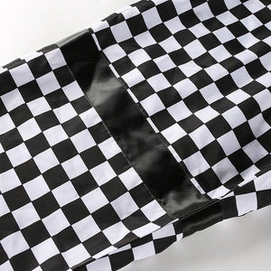 CHECKERBOARD TROUSER - DIFTAS - Do It For The Aesthetics
