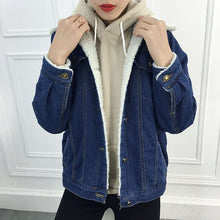 Load image into Gallery viewer, FUR DENIM JACKET - DIFTAS - Do It For The Aesthetics