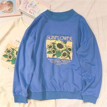 Load image into Gallery viewer, SUNFLOWER SWEATSHIRT - DIFTAS - Do It For The Aesthetics