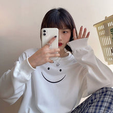 Load image into Gallery viewer, SMILEY SWEATSHIRT
