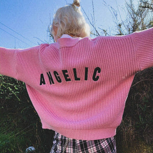 ANGEL CARDIGAN SWEATER