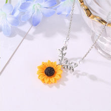 Load image into Gallery viewer, SUNFLOWER NECKLACE - DIFTAS - Do It For The Aesthetics