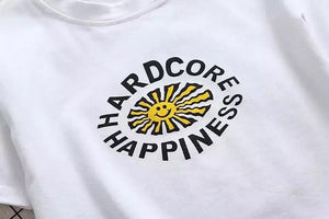 HARDCORE HAPPINESS CROPTOP - DIFTAS - Do It For The Aesthetics