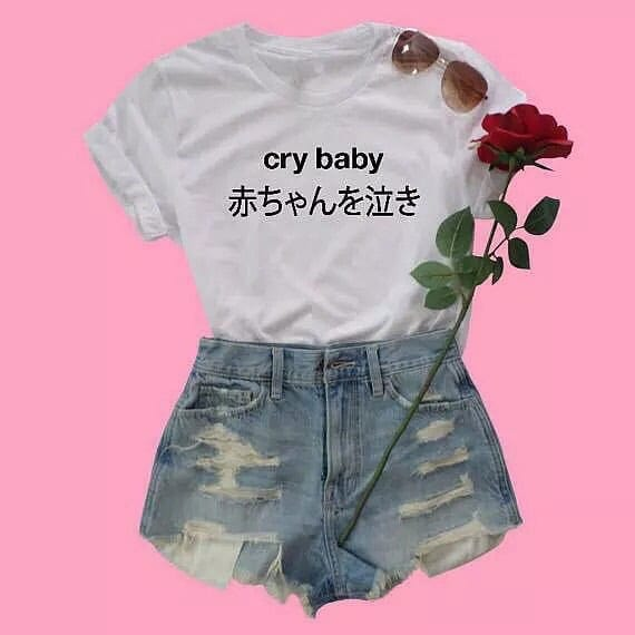 CRY BABY T-SHIRT - DIFTAS - Do It For The Aesthetics