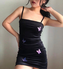 Load image into Gallery viewer, BUTTERFLY GOTHIC DRESS - DIFTAS - Do It For The Aesthetics