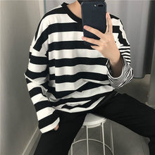 Load image into Gallery viewer, DOUBLE STRIPE FULL-SLEEVES TEE - DIFTAS - Do It For The Aesthetics