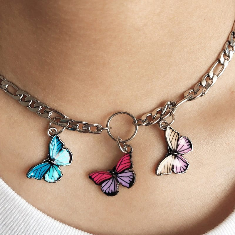 BUTTERFLY CHOKER - DIFTAS - Do It For The Aesthetics