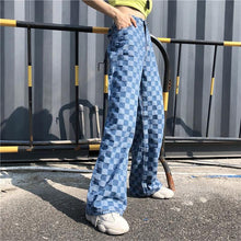 Load image into Gallery viewer, BLUE CHECKERBOARD PANT - DIFTAS - Do It For The Aesthetics