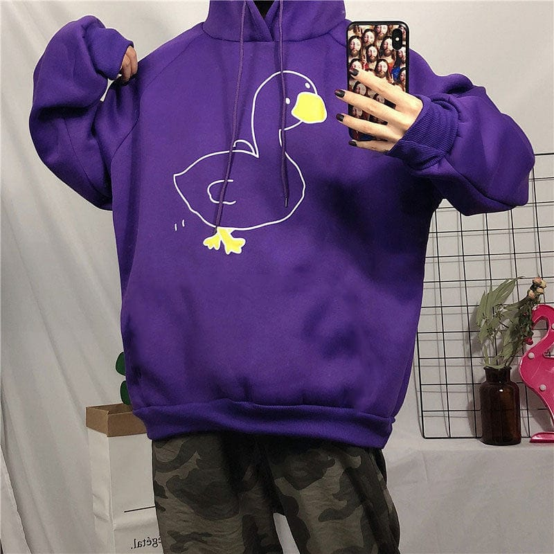 DUCK HOODIE - DIFTAS - Do It For The Aesthetics