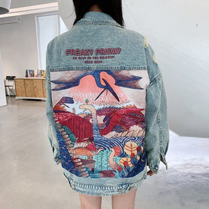 VINTAGE DENIM JACKET - DIFTAS - Do It For The Aesthetics