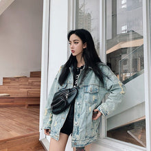 Load image into Gallery viewer, VINTAGE DENIM JACKET - DIFTAS - Do It For The Aesthetics