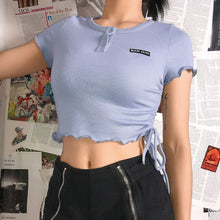 Load image into Gallery viewer, SUCH CUTE CROP TOP - DIFTAS - Do It For The Aesthetics