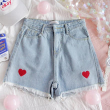 Load image into Gallery viewer, KAWAII HEART SHORTS - DIFTAS - Do It For The Aesthetics