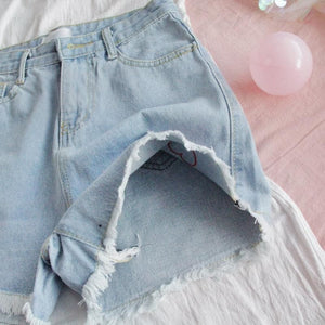 KAWAII HEART SHORTS - DIFTAS - Do It For The Aesthetics