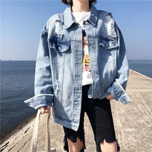 Load image into Gallery viewer, WALK WILDSIDE DENIM JACKET - DIFTAS - Do It For The Aesthetics
