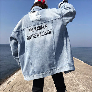 WALK WILDSIDE DENIM JACKET - DIFTAS - Do It For The Aesthetics