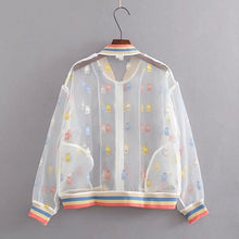 Load image into Gallery viewer, HARAJUKU TRANSPARENT JACKET - DIFTAS - Do It For The Aesthetics