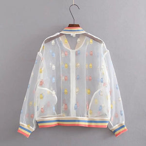 HARAJUKU TRANSPARENT JACKET - DIFTAS - Do It For The Aesthetics