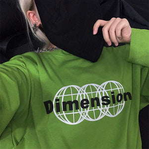 DIMENSION FULL-SLEEVES TEE - DIFTAS - Do It For The Aesthetics