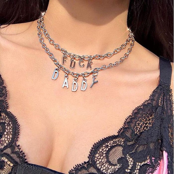 FUCK/DADDY CHOKER - DIFTAS - Do It For The Aesthetics
