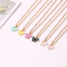 Load image into Gallery viewer, BUTTERFLY NECKLACE(6 Colors) - DIFTAS - Do It For The Aesthetics