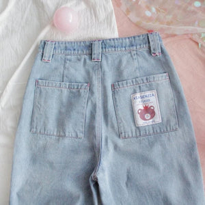 KAWAII DENIM JEANS - DIFTAS - Do It For The Aesthetics