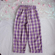 Load image into Gallery viewer, CHECKERBOARD PURPLE TROUSER - DIFTAS - Do It For The Aesthetics
