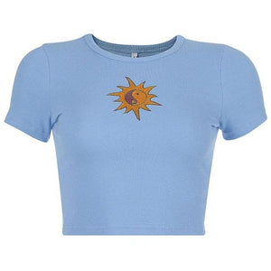 SUN CROP TOP - DIFTAS - Do It For The Aesthetics