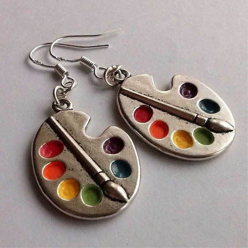 ART PALETTE EARRINGS - DIFTAS - Do It For The Aesthetics