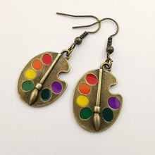 Load image into Gallery viewer, ART PALETTE EARRINGS - DIFTAS - Do It For The Aesthetics