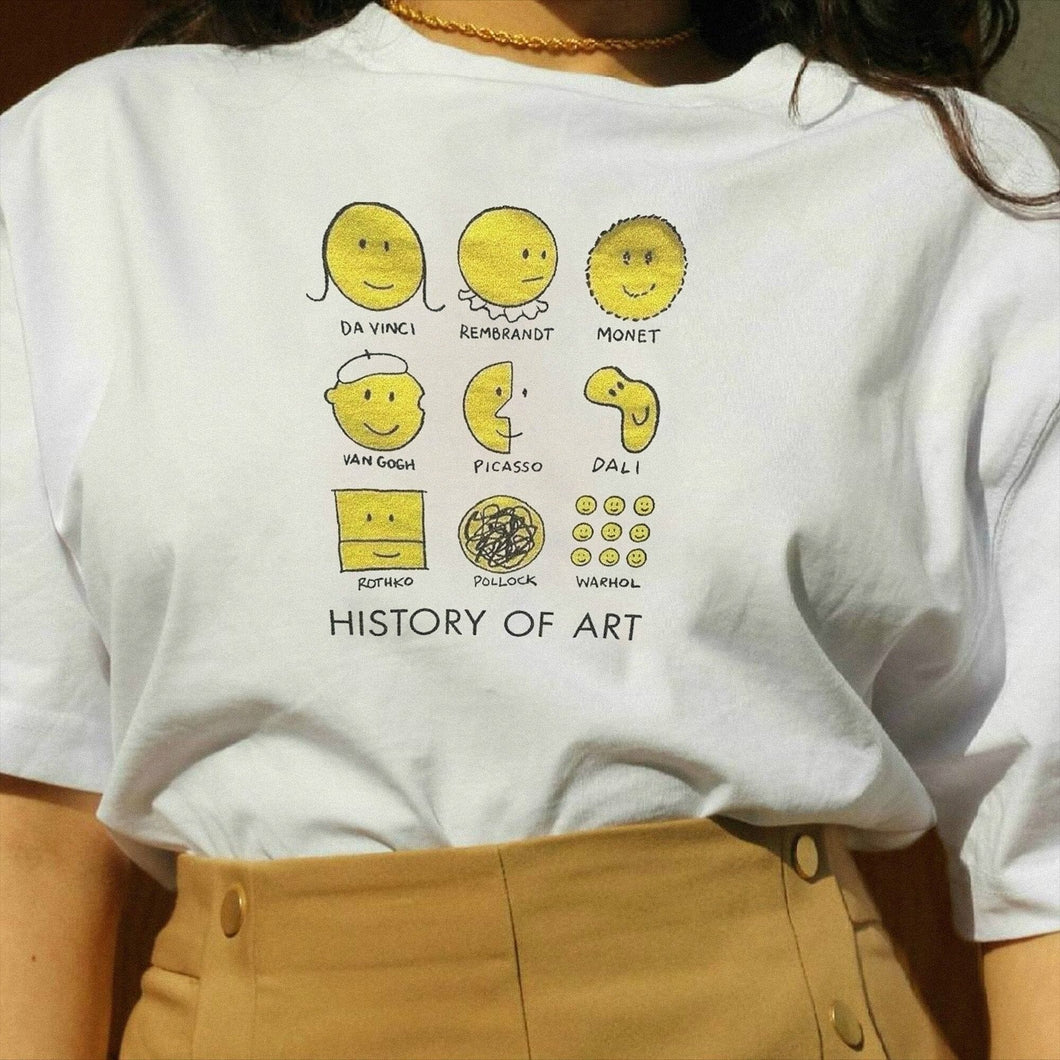 ART HISTORY TEE - DIFTAS - Do It For The Aesthetics