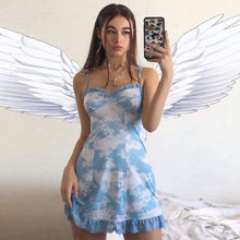 Load image into Gallery viewer, CLOUDS BLUE DRESS - DIFTAS - Do It For The Aesthetics