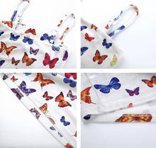 Load image into Gallery viewer, BUTTERFLY WHITE DRESS - DIFTAS - Do It For The Aesthetics