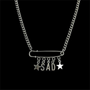 SAD PUNK NECKLACE - DIFTAS - Do It For The Aesthetics